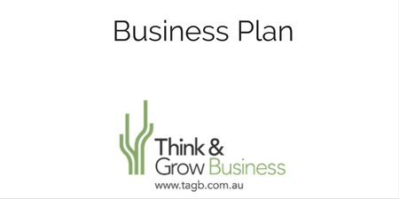 Think and Grow Business Plan