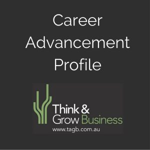 Career Advancement Profile