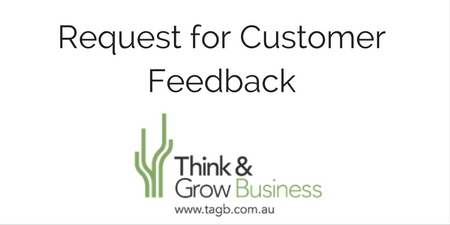 Request for Customer Feedback