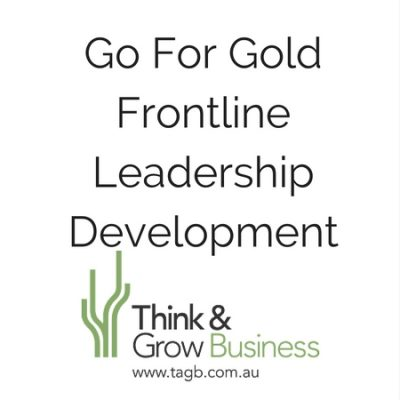 Go For Gold Frontline Leadership