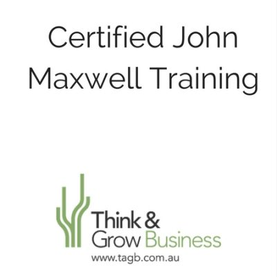 Certified John Maxwell Training