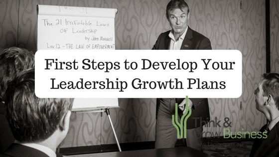 Developing Your Leadership Growth Plan