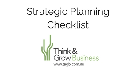 Strategic Planning Checklst
