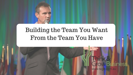 Build the team :Building the Team You Want