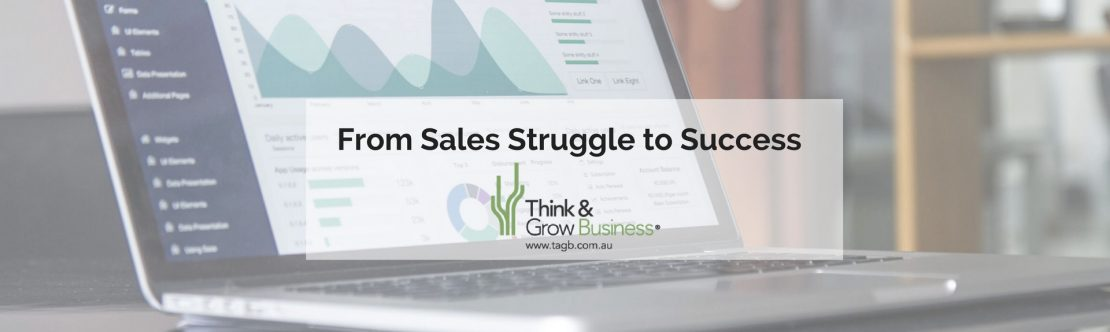 Struggling Sales to Successful Sales