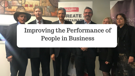 Improving the performance of people in business