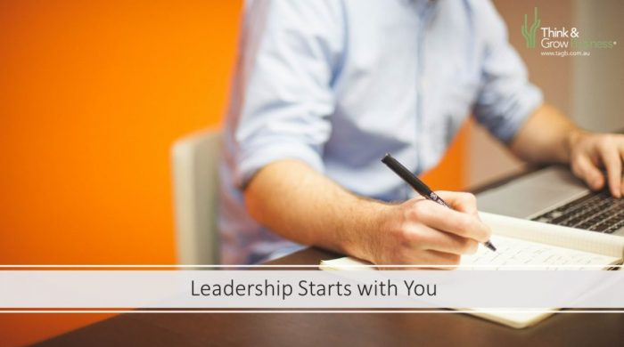Leadership Starts With You