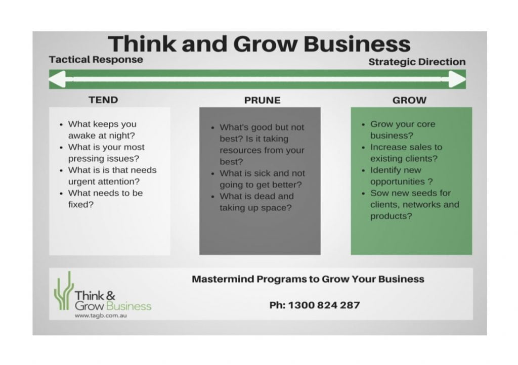 Masterminds to grow business