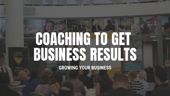 coaching to get business results