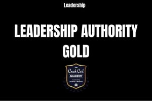 Leadership Authority - Gold