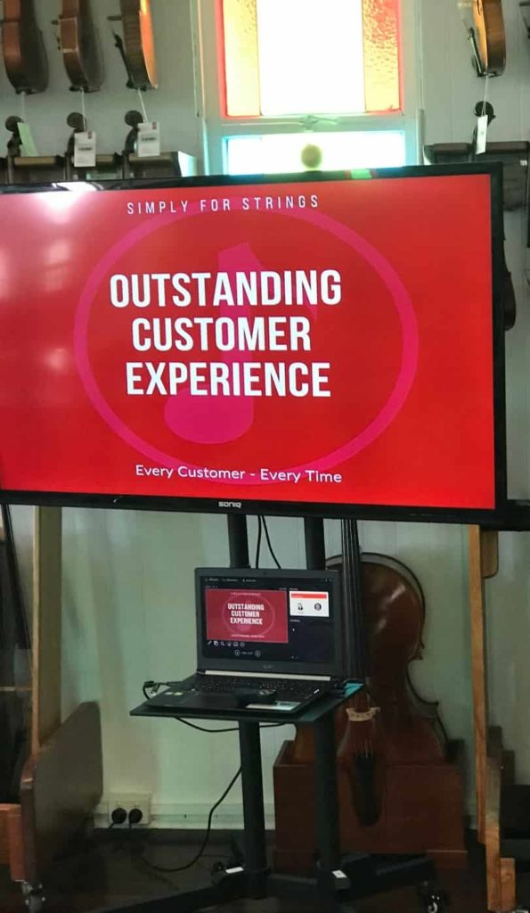 Outstanding customer experience