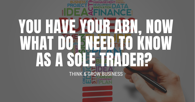 ABN for Sole Trader